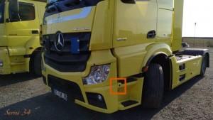 Mercedes Tır kamera montajı